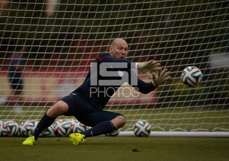 Sao Paulo, Brazil - Monday, June 9, 2014: USMNT training at Sao Paulo FC.