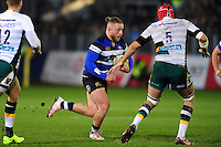 Max Lahiff of Bath Rugby goes on the attack. Aviva Premiership match, between Bath Rugby and Northampton Saints on February 10, 2017 at the Recreation Ground in Bath, England. Photo by: Patrick Khachfe / Onside Images