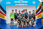 HKFC Citibank Junior Soccer 7s Final match as part of day three of the HKFC Citibank Soccer Sevens 2015 on May 31, 2015 at the Hong Kong Football Club in Hong Kong, China. Photo by Xaume Olleros / Power Sport Images