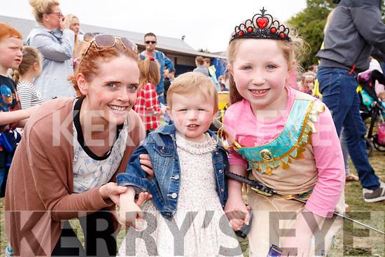 Enjoying the Kilflynn Enchanted Fairy Festival on Sunday afternoon last, were l-r: Margaret Lynch, Siobhan Lynch and Áine Dowling, Castlegregory.