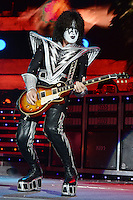 ALBUQUERQUE NM - AUGUST 7:  Tommy Thayer of Kiss performs at the Hard Rock Casino Albuquerque on August 7, 2012 in Albuquerque, New Mexico. /NortePhoto.com<br />