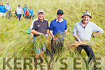Members of the Castlegregory Golf Club transplanting Marram grass on Saturday.<br /> Front l to r: Tommy King, Eddie Hannafin (Club President) and Michael Burrows.