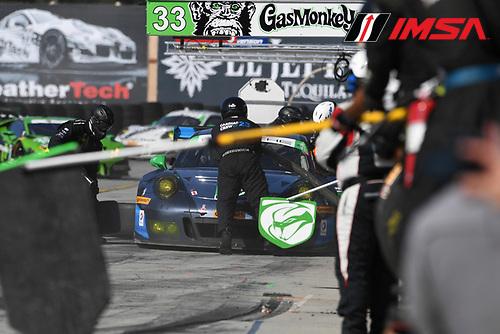 29 April - 1 May, 2016, Monterey, CaliforniaUSA<br /> 23, Porsche, GT3 R, GTD, Mario Farnbacher, Alex Riberas<br /> &copy;2016, Richard Dole<br /> LAT Photo USA