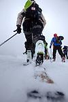 Challenge Mer et Montagne 2012, Saint Gervais les Bains, Mont Blanc, Haute Savoie, France..Ski Rando..