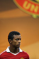 Nani #17 of Manchester United during the 2010 MLS All-Star match against the MLS All-Stars at Reliant Stadium, on July 28 2010, in Houston, Texas. Manchester United won 5-2.