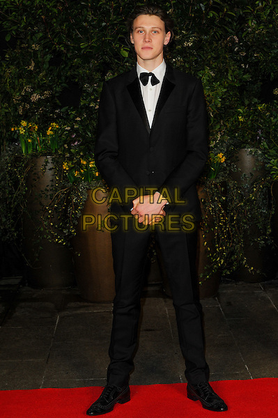 LONDON, ENGLAND - FEBRUARY 16: George MacKay attends EE British Academy Film Awards afterparty at the Grosvenor Hotel on February 16, 2014 in London, England. <br /> CAP/CJ<br /> &copy;Chris Joseph/Capital Pictures