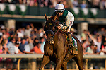 October 07 2018 : Blue Prize with Joe Bravo up wins the Juddmonte Spinster States at Keeneland Racecourse on October 07, 2018 in Lexington, Kentucky. Evers/ESW/CSM