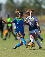Lakewood Ranch, FL - Sunday Dec. 10, 2017: Kennedy Wesley during the 2017 Development Academy Winter Showcase & Nike International Friendlies at Premier Sports Campus at Lakewood Ranch, FL.