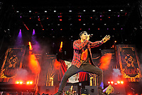 DERBY, ENGLAND - JUNE 8: M Shadows of 'Avenged Sevenfold' performing at Download Festival, Donington Park on June , 2018 in Derby<br /> CAP/MAR<br /> &copy;MAR/Capital Pictures