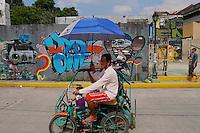 Manila Street scene, Philippines