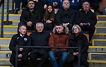 Edinburgh City's newly-appointed Sporting Director, Jim Jeffries, watches his first match since taking on the role. City were looking for points in their bid to avoid relegation in their first season in League 2 after promotion from the Lowland League in 2015-16. The match ended 1-1, Josh Walker scoring for City, with Montrose equalising in the last minute, watched by a crowd of 346.