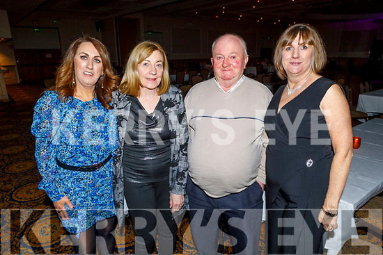 Eileen Whelan with Mary and Johnny Connor (Grandparents of Amber) and Mary Lynch enjoying the Bon Jovee fundraiser in the Brandon Hotel on Saturday.