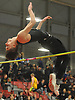 Vladislav Cullinane of Babylon clears the bar at six feet, six inches to win the high jump event in the Suffolk County varsity boys track and field small schools championship at Suffolk Community College Grant Campus in Brentwood on Friday, Feb. 2, 2018.