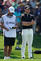 Rory McIlroy (NIR) on the 17th tee during the 2nd round at the PGA Championship 2019, Beth Page Black, New York, USA. 17/05/2019.<br /> Picture Fran Caffrey / Golffile.ie<br /> <br /> All photo usage must carry mandatory copyright credit (&copy; Golffile | Fran Caffrey)