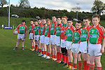 St Marys DOnore with the New FLO GAS sponsored jerseys..Picture:  Fran Caffrey www.golffile.ie ..