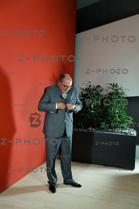Portrait und Interview mit Georg Portmann CEO von CSS Krankenkasse - CSS Versicherung im Hauptsitz in Luzern am 11. Juni 2013<br /> <br /> Copyright © Zvonimir Pisonic