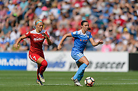 Bridgeview, IL - Saturday June 17, 2017: Vanessa DiBernardo during a regular season National Women's Soccer League (NWSL) match between the Chicago Red Stars and the Washington Spirit at Toyota Park. The match ended in a 1-1 tie.