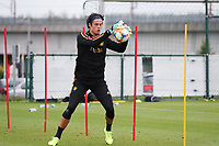 20190903 – TUBIZE , BELGIUM : Belgian Mile Svilar is pictured during a training session of the U21 youth team of the Belgian national soccer team Red Devils , a training session as a preparation for their first game against Wales in the qualification for the European Championship round in group 9 on the road for Hungary and Slovenia in 2021, Tuesday 3rd of September 2019 at the National training grounds in Tubize , Belgium. PHOTO SPORTPIX.BE | Sevil Oktem