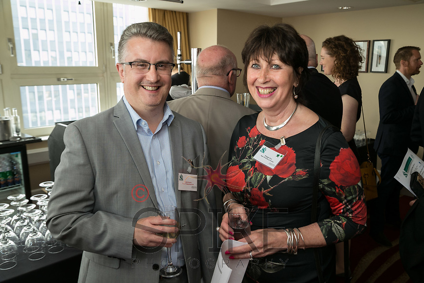 Craig Pearson of Your IT Department and Maggie Ross of Age UK Nottingham & Nottinghamshire