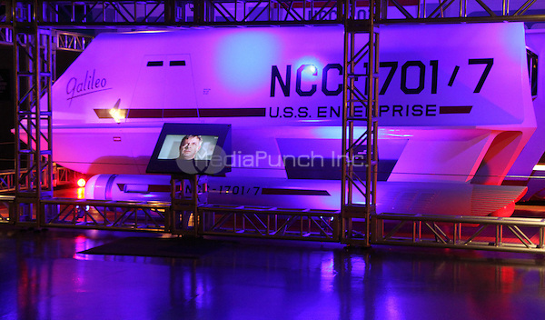 NEW YORK, NY-May 13: Galileo Shuttlecraft from U.S.S. ENTERPRISE Star Trek Series on display at  Intrepid Sea, Air & Space Museum  in New York. NY May 13, 2016. Credit:RW/MediaPunch