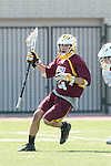 Orange, CA 05/02/10 - Kris Saunders (ASU # 21) in action during the Chapman-Arizona State MCLA SLC Division I final at Wilson Field on Chapman University's campus.  Arizona State defeated Chapman 13-12 in overtime.