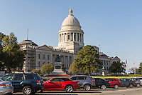 The Arkansas State Capitol in Little Rock, Arkansas.