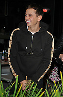 George Lineker at the Bluebird Cafe launch party, Bluebird Cafe, Television Centre White City, Wood Lane, London, England, UK, on Tuesday 10 April 2018.<br /> CAP/CAN<br /> &copy;CAN/Capital Pictures