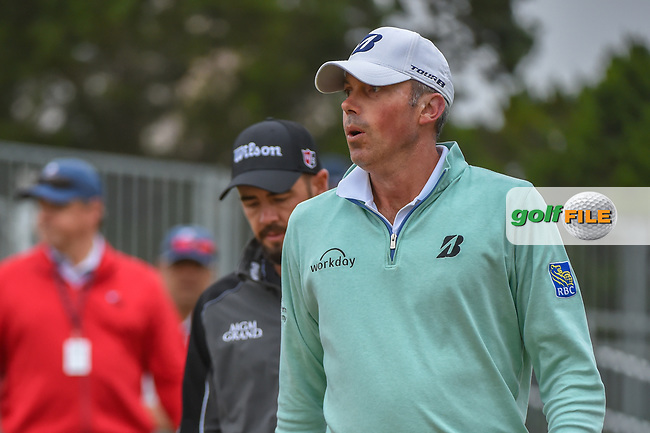 Matt Kuchar (USA) heads down 10 during Round 3 of the Valero Texas Open, AT&T Oaks Course, TPC San Antonio, San Antonio, Texas, USA. 4/21/2018.<br /> Picture: Golffile | Ken Murray<br /> <br /> <br /> All photo usage must carry mandatory copyright credit (© Golffile | Ken Murray)