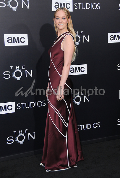 "03 April 2017 - Hollywood, California - Jess Weixler.  Premiere screening of AMC's ""The Son"" held at ArcLight Hollywood in Hollywood. Photo Credit: Birdie Thompson/AdMedia"
