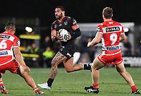 Adam Blair.<br /> NRL Premiership rugby league. Vodafone Warriors v St George Illawarra. Mt Smart Stadium, Auckland, New Zealand. Friday 20 April 2018. &copy; Copyright photo: Andrew Cornaga / www.Photosport.nz
