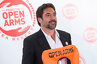 Javier Bardem attends to solidary encounter<br />  to raise funds for Open Arms Foundation in Madrid, Spain. May 31, 2018. (ALTERPHOTOS/Borja B.Hojas) NortePhoto.com