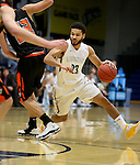 SIOUX FALLS, SD, DECEMBER 19:  Jordan Spencer #23 from Augustana gets a step around a defender from Doane during their game Monday night at the Elmen Center in Sioux Falls, SD. (Photo by Dave Eggen/Inertia)
