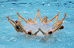 09/08/2012 - Team Synchronised Swimming - Aquatics Centre - Olympic Park - London