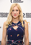 Charlotte Parry attends the press photo call for the Roundabout Theatre Company's production of  'Time and the Conways' at The Roundabout Theatre Studios on August 24, 2017 in New York City.