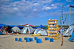 "The Library camp at ""Mid Burn"", the Israeli ""Burning Man Festival"" held at ""Habonim"" beach north of Israel October 4-6, 2012."
