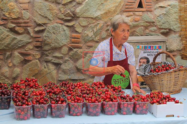 37a Festa de la Cirera.<br /> Mercat de la Cirera.