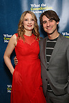 "Heidi Schreck and Kip Fagan attends the Broadway Opening Night Performance After Party for  ""What The Constitution Means To Me"" at Ascent Lounge on March 31, 2019 in New York City."