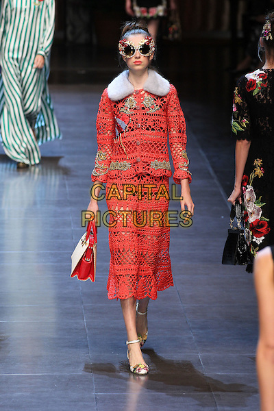 DOLCE GABBANA<br /> Milan Fashion Week, Ready to Wear,Spring Summer 2016, Milan, Italy September 27, 2015.<br /> CAP/GOL<br /> &copy;GOL/Capital Pictures
