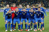 Formazione UCRAINA <br /> Ukraine team group before the match <br /> Ukraine vs Wales - Friendly match - Kiev - 03/28/2016<br /> Foto Insidefoto