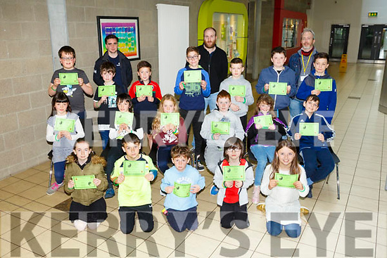 Coder Dojo  Awards at IT Tralee on Saturday were 8-12 junior group receiving their awards in HTML