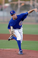 Brooks Raley - AZL Cubs (2009 Arizona League) pitching his first professional game against the AZL Padres at Fitch Park, Mesa, AZ - 08/16/2009..Photo by:  Bill Mitchell/Four Seam Images..