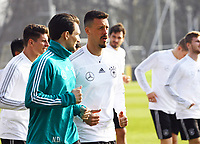Sandro Wagner (Deutschland Germany) - 25.03.2018: Training der Deutschen Nationalmannschaft, Olympiastadion Berlin