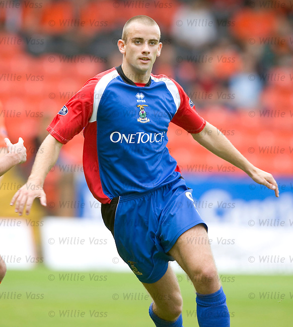 Graham Bayne, Inverness Caledonian Thistle.stock season 2004-2005.pic willie vass