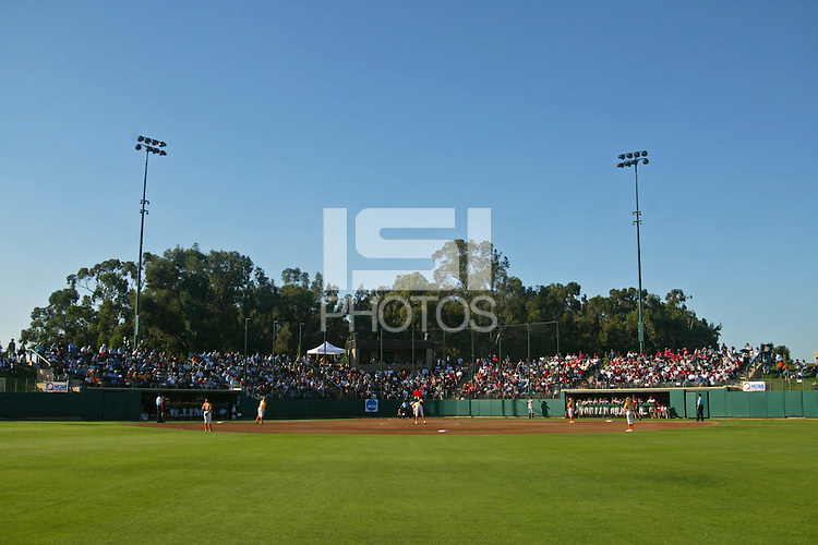 27 May 2005: The Jill and Boyd Smith Family Stadium faclity during Stanford's 2-0 loss to the University of Tennessee in the NCAA Softball Super Regional at Jill and Boyd Smith Family Stadium in Stanford, CA.