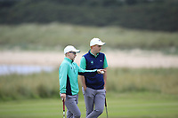 David Kitt &amp; Allan Hill of Ireland during Day 2 / Foursomes of the Boys' Home Internationals played at Royal Dornoch Golf Club, Dornoch, Sutherland, Scotland. 08/08/2018<br /> Picture: Golffile | Phil Inglis<br /> <br /> All photo usage must carry mandatory copyright credit (&copy; Golffile | Phil Inglis)