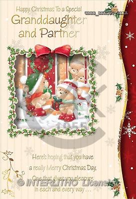John, CHRISTMAS ANIMALS, paintings(GBHSHSXC50-211A,#XA#) Weihnachten, Navidad, illustrations, pinturas