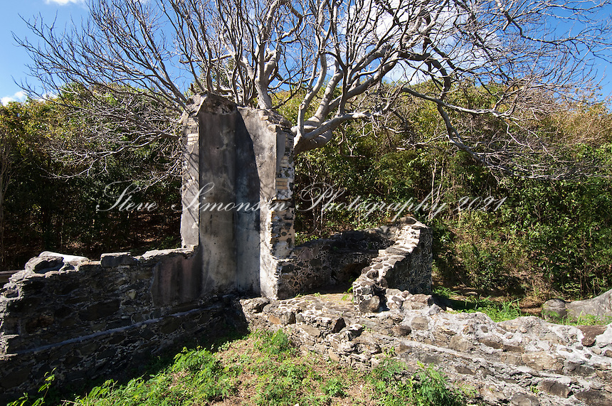 Annaberg School Ruins<br /> Virgin Islands National Park<br /> St. John<br /> U.S. Virgin Islands