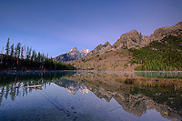 Sunrise at String Lake, Grand Teton reflection, Grand Teton National Park