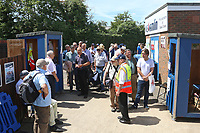 Spectators wait to enter the ground ahead of Essex CCC vs Middlesex CCC, Specsavers County Championship Division 1 Cricket at The Cloudfm County Ground on 26th June 2017