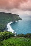 USA, Hawaii, The Big Island, Waipio Valley landscape